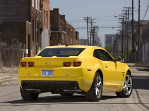 Wallpapers - Chevrolet Camaro SS - Transformers (Bumblebee)