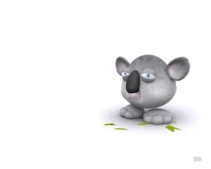 Cool Art Wallpaper 3D Cute Animals