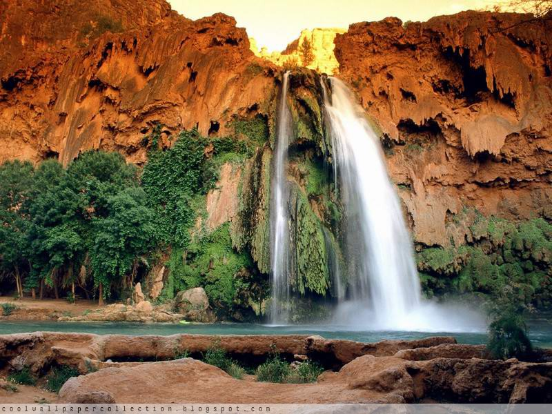 wallpaper water. Water Fall Wallpapers