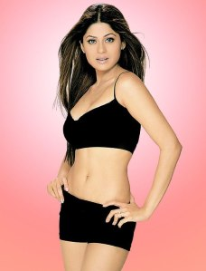 Actress Shamita Shetty in Bikini