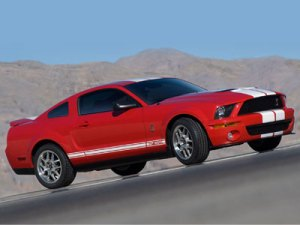 Wallpapers - Ford Mustang Shelby GT500 (2007)